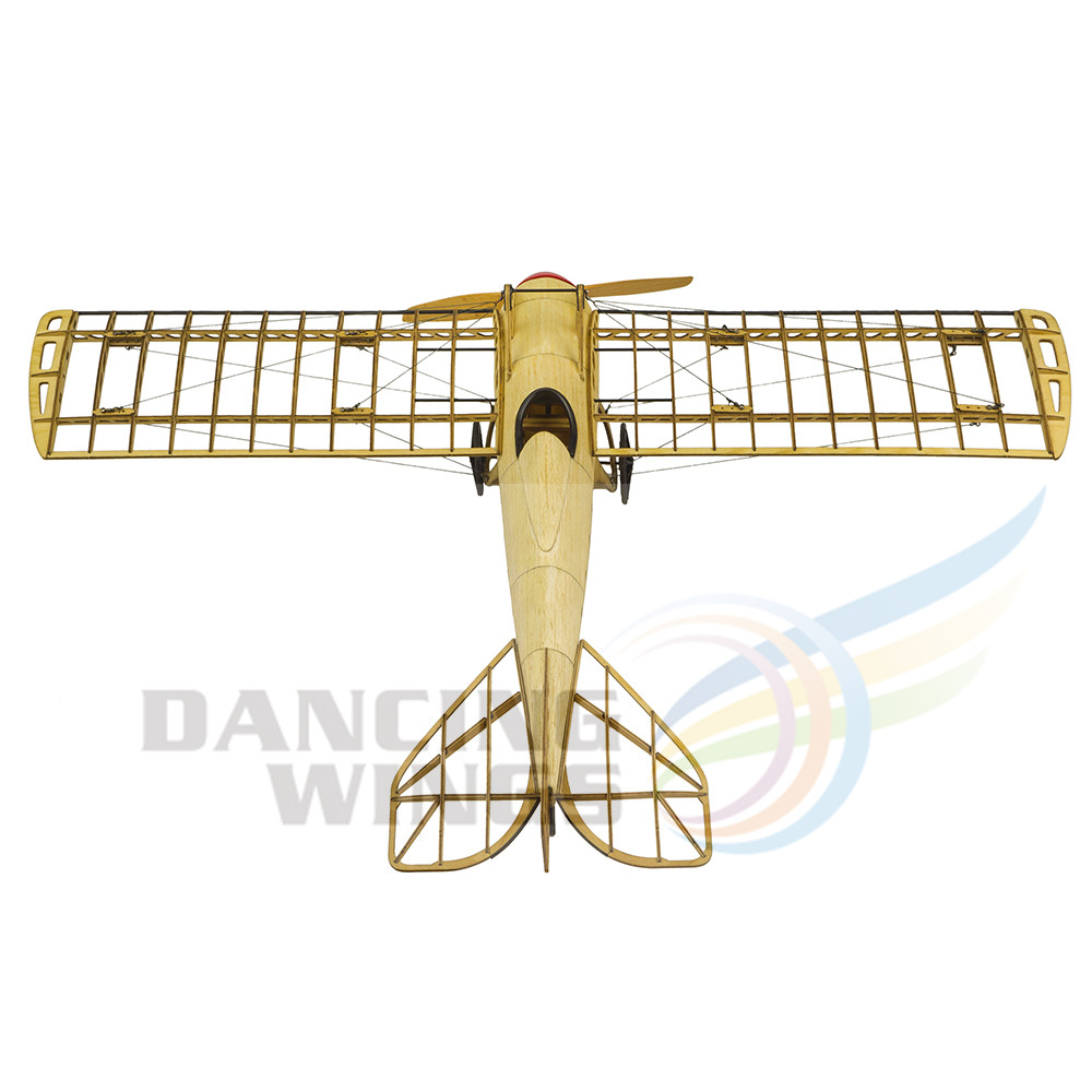 5% Pre Gebouwd Kit OnlyVintage Vliegtuig Model Deperdussin Monocoque Plane 1:13 Schaal Modelvliegtuigen Building Kit Vergadering Toy - 3