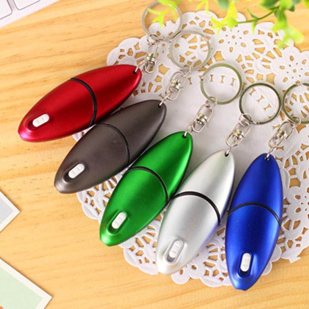 Creative Stationery Multi-function Screwdriver LED Light Ballpoint Pen With Key Ring LED Light Capacitor Pen