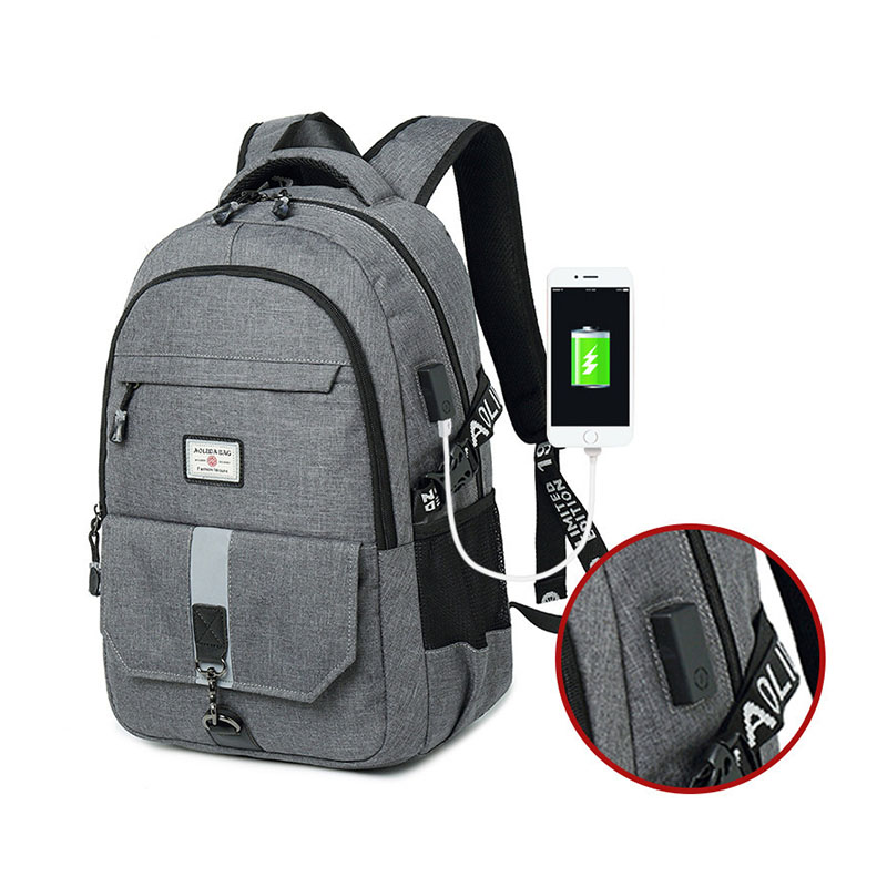 Teenage Backpacks For Teen Boys Back To School Bagpack USB Laptop Backpack Men Schoolbag Backpack Male School Bags Fashion Bolsa