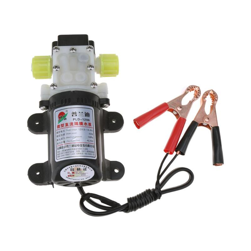 Professional 45W 12V Electric Methanol Oil Diesel Fuel Pump Hydraulic Engine Oil Extractor Transfer Pump цена и фото