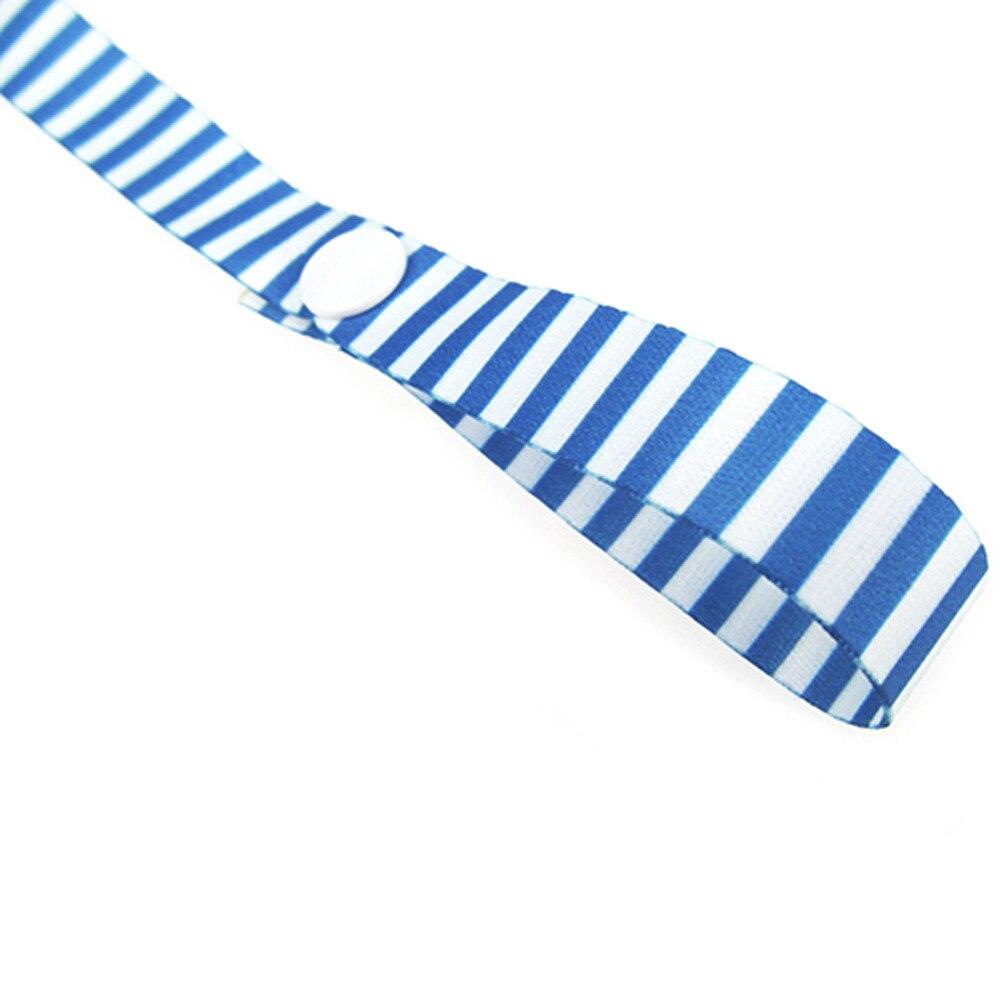 60 см* 1,5 см детская Нескользящая вешалка, держатель для ремня, игрушки, ремень для коляски, фиксированная Автомобильная цепочка для соски, высокое качество, для детских принадлежностей - Цвет: L