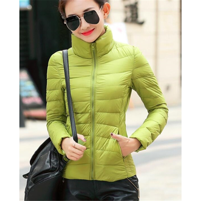 ZOGAA Women's   Parkas   Winter Jacket Coat Woman Casual Solid Stand Collar   Parka   Jackets Female Cotton Coat Slim Fit Outwear   Parkas