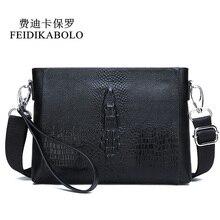 FEIDIKABOLO Men Bag Genuine Leather Men's