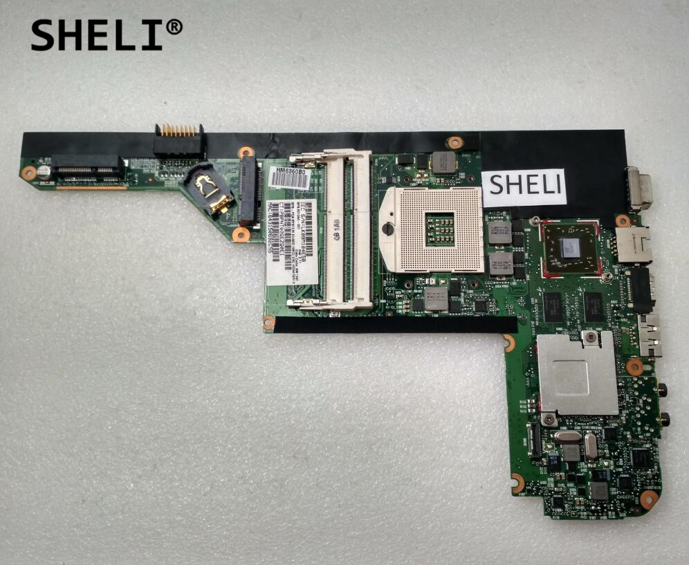 SHELI For HP DM4-1000 DM4 Motherboard with HD5470 621044-001 608204 001 free shipping motherboard for hp dm4 dm4 1000 hm55 chipset model full tested