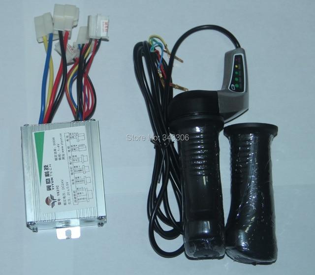 24 V 500 Watt Gebürstet Controller Elektroroller Gas Twist Grips ...