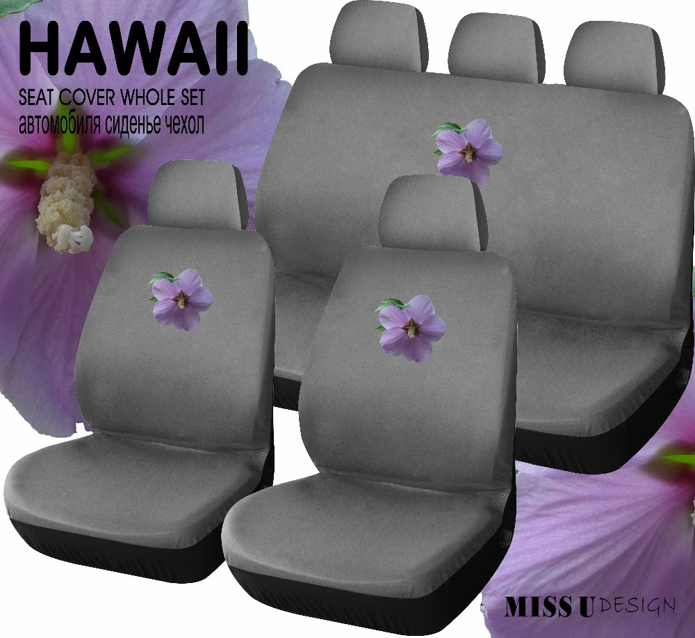 Hawaii flower printing universal car seat cover auto interior hawaii flower printing universal car seat cover auto interior accessories free shipping fashion car cover in automobiles seat covers from automobiles izmirmasajfo