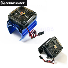 Original hobbywing 1 8 RC Car Motor Radiator 5V cooling fan assembly suit for Hobbywing 4465