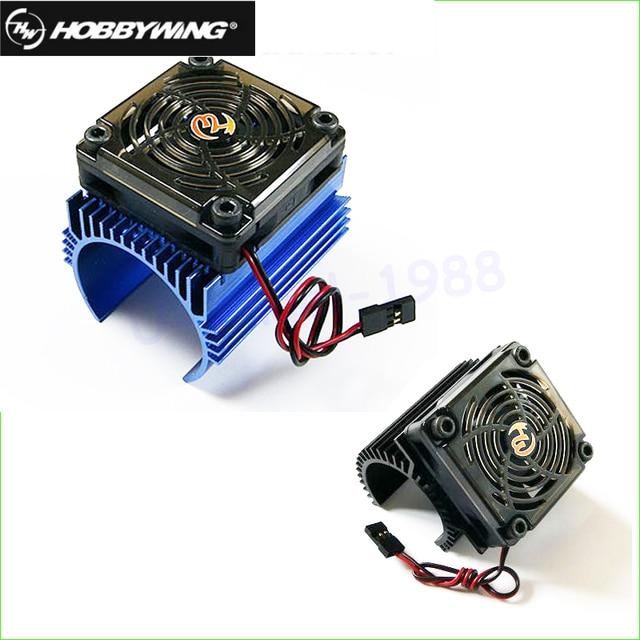 Original Hobbywing 1 8 Rc Car Motor Radiator 5v Cooling Fan Embly Suit For