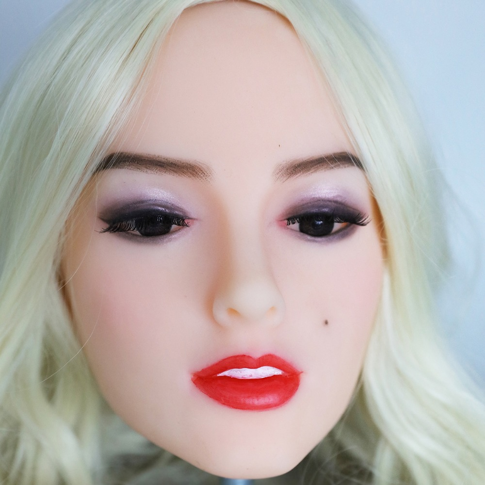 2017 Newest Top Quality Head 33# Big Doll's Head Natural Skin Sex Doll Head for Silicone Sex Doll Suit For More Than 140cm Doll 2017 newest top quality head 56 big doll s head tan skin sex doll head for silicone sex doll suitable for more than 140cm doll
