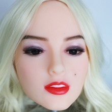 2017 Newest Top Quality Head 33# Big Doll's Head Natural Skin Sex Doll Head for Silicone Sex Doll Suit For More Than 140cm Doll