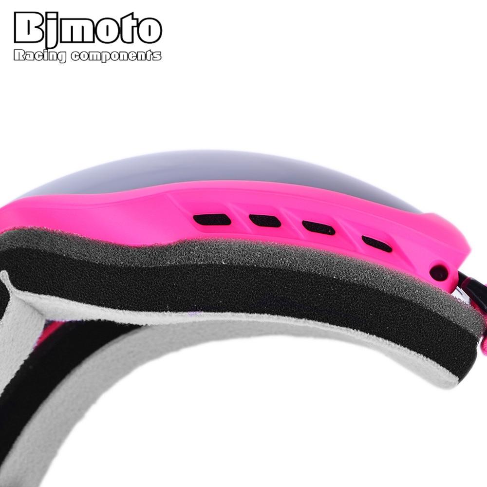 Bjmoto safety Ski snow Snowboard Skate Goggles Anti-fog Double Lens Detacha goggles outdoor sports ski skiing Winter glasses