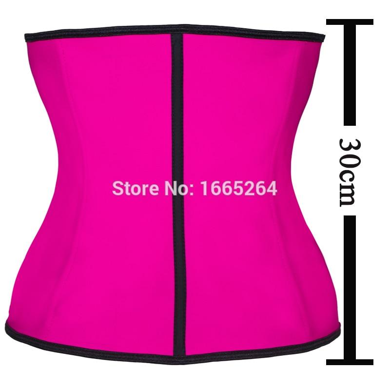 Faja Corset 100% Latex Waist Trainer Wholesale Women Waist Cincher Slimming Shaper 10pcs Waist Shaper Latex Body Shaper Corset
