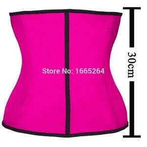 Image 5 - Faja espartilho 100% látex cintura formadora por atacado mulheres cintura cincher emagrecimento shaper shaper 10pcs cintura shaper corpo látex