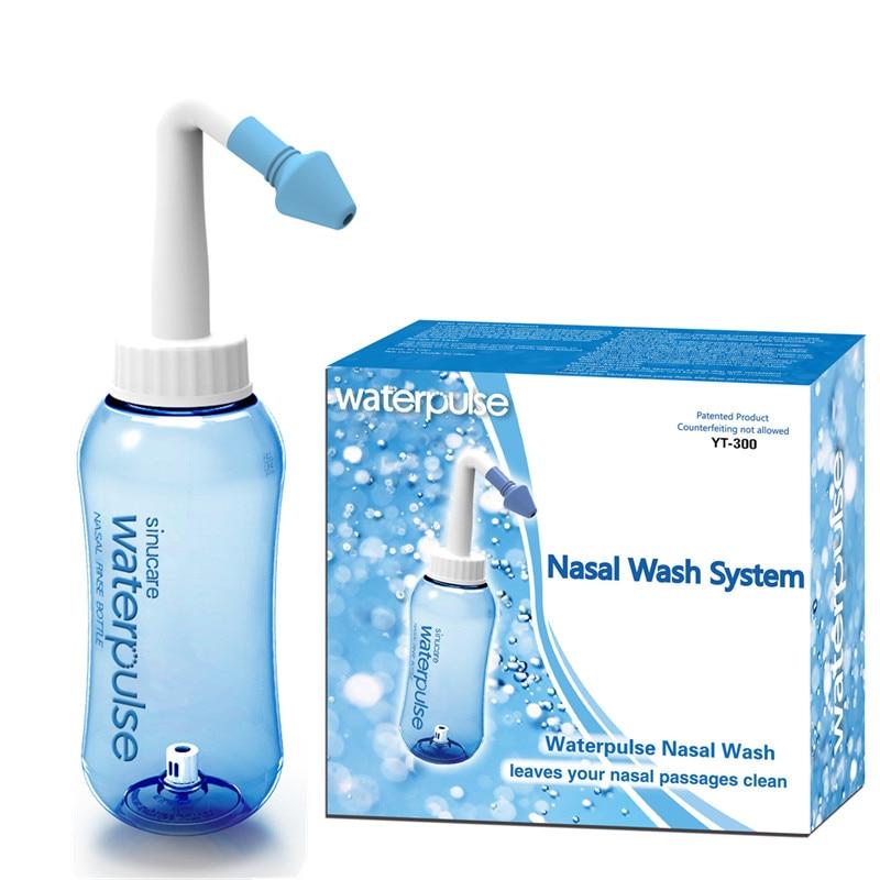 300ml Adults Children Neti Pot Standard Nose Nasal Wash Yoga Detox Sinus Allergies Relief Rinse waterpulse