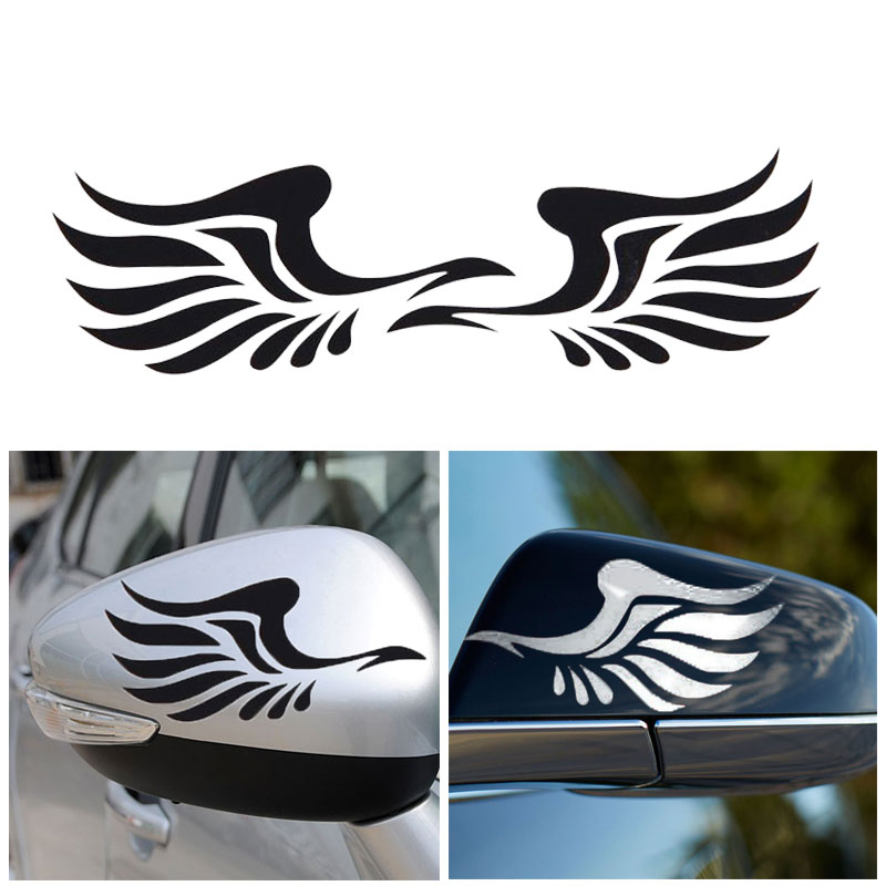 Wings Pattern car-styling Motorcycle Sticker For renault ford opel vw kia 11.7 * 6.5cm car-covers Car Stickers For peugeot bmw cobra snake emblem badge stickers car covers for ford shelby gt500 diameter 15 cm cobra styling 2015 new