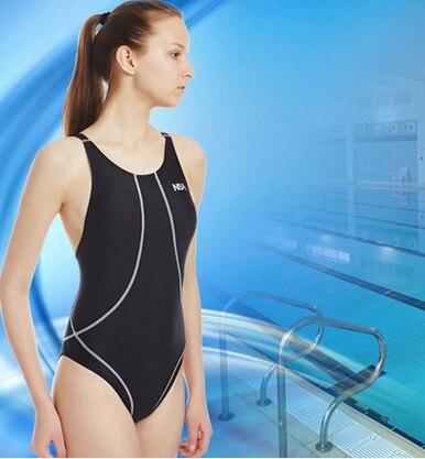 NSA Triangle professionnel une pièce maillots de bain femmes Plus grande taille course compétition Sport corps maillot de bain maillot de bain plage porter