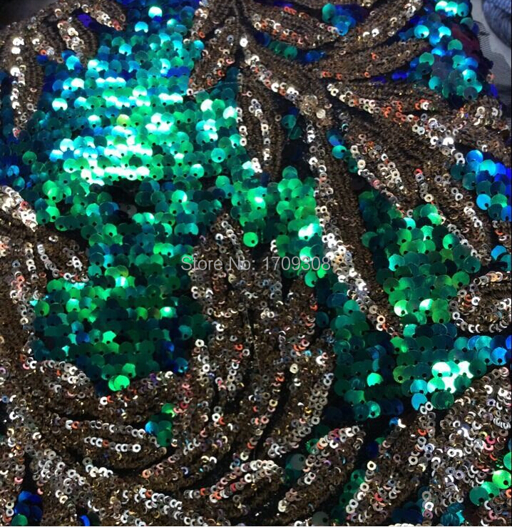 5 yard lot new arrival african net sequins fabrics 100 Cotton african net sequins fabrics