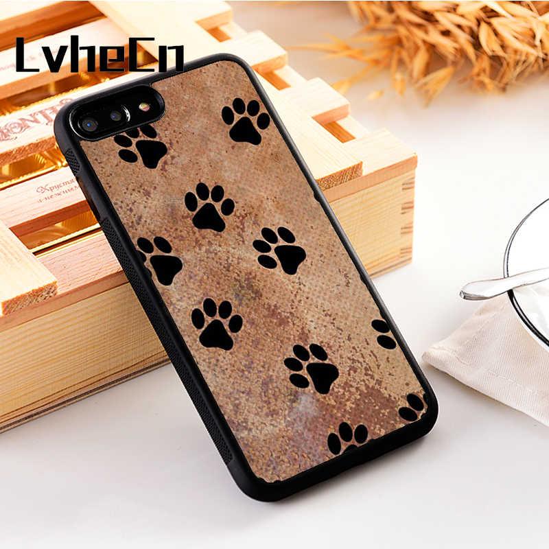 Lvhecn 5 5 S SE Penutup Telepon Kasus untuk iPhone 6 6 S 7 7 Plus X XS Max Xr Silikon Lembut TPU Muay Thai Tiger Cetak