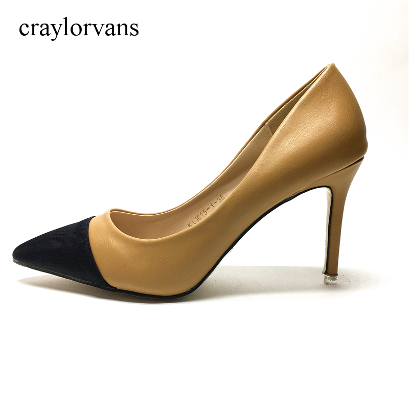 GU01 Woman brand High Heel Pumps Sexy Black High Heels Pointed Toe Women Shoes Brand Patent Leather Wedding Shoes For Women brand women shoes high heels 12cm sexy pumps shoes for women patent leather high heels wedding shoes woman high heel b 0054