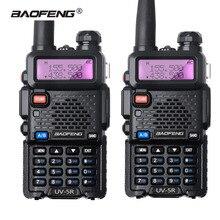 2Pcs Baofeng UV-5R 8W Walkie Talkie Dual Band UHF VHF UV5R CB Radio VOX Ham Radio Long Distance Transceiver for Hunting Radio