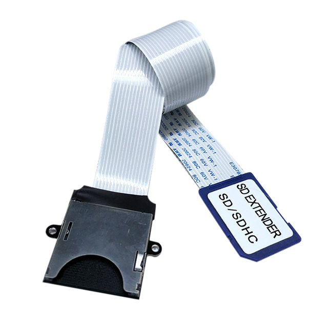 SD to SD Card Extension Cable Card Read Adapter Flexible Extender Micro SD To SD/SDHC/SDXC Memory Card Extender Cord Linker