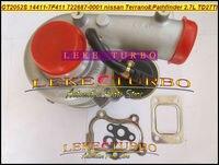 Livre o Navio GT2052S 14411-7F411 722687-5001 S 722687 Turbina Turbocharger Para Nissan Terrano II 2001 Pathfinder 2001-05 TD27TI 2.7L