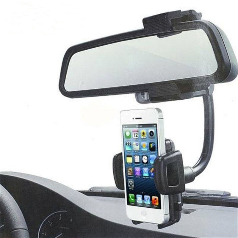 Universal Rotatable Dual USB Car Charger Cradle Cellphone Mount Stand Holder Phone Stand Car Charger for Moblie Phone
