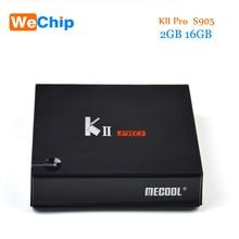 KII Pro Smart Android 7 1 TV Box DVB S2 T2 2G 16G Amlogic S905D Quad