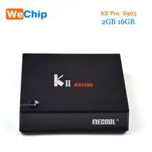 KII Pro Smart Android 7.1 TV Box DVB S2/T2 2G 16G Amlogic S905D Quad-core 4K*2K HD 2.4G+5G Wifi Bluetooth 4.0 tv box receiver