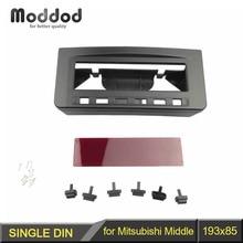 For Mitsubishi Pajero Sport Triton L200 Mornitor MID Radio DVD Middle Stereo Panel Dash Mounting Installation Trim Kit Fascia