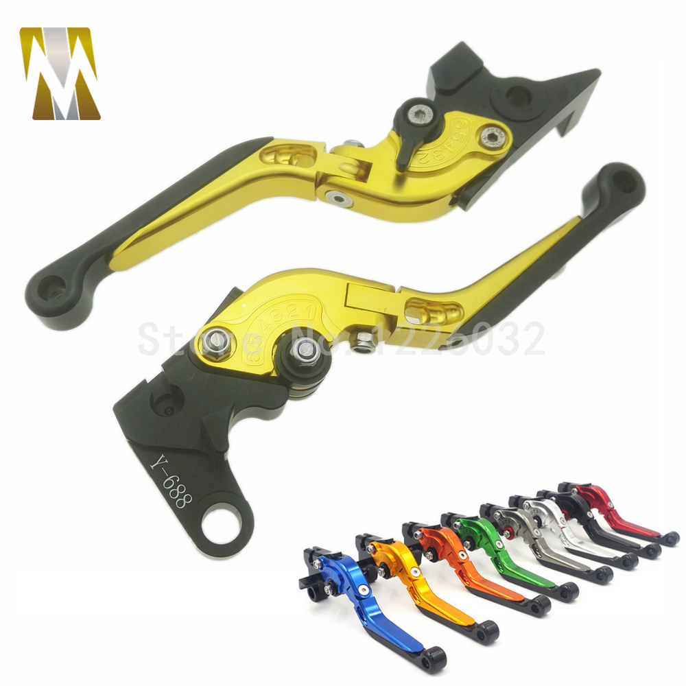 New Motorbike Brake Clutch Levers For Yamaha FZ6 FAZER FZ6R FZ8/ XJ6 DIVERSION FZ1 FAZER MT-07/FZ-7 MT-09/SR/FZ9 motorcycle adjustable cnc aluminum brakes clutch levers set motorbike brake for yamaha fz1 fazer 2006 2013 xj6 diversion 09 15