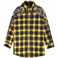 WE09526 Модные женские блузки и рубашки 2018 взлетно посадочной полосы Элитный бренд Европейский Дизайн вечерние Стиль Женская Костюмы