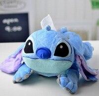 1 pc 40 cm ponto azul dos desenhos animados engraçado brinquedo de pelúcia carro decoração de papel toalha travesseiro de pelúcia de presente engraçado