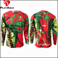 2016 Fury Race Men Women Downhill Jerseys MTB Mountain Bike Motocross Motorcycle BMX Shirt Cycling Bicycle Jersey DH Clothing