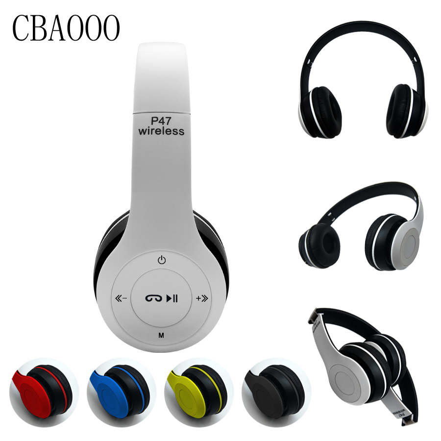 CBAOOO Headphones Bluetooth Headset Wireless earphone Stereo Foldable Sport Earphone Microphone Handsfree with MP3 player phone wireless bluetooth headset neckband stereo headphone support fm radio tf card microphone sport earphone for smartphone xiaomi