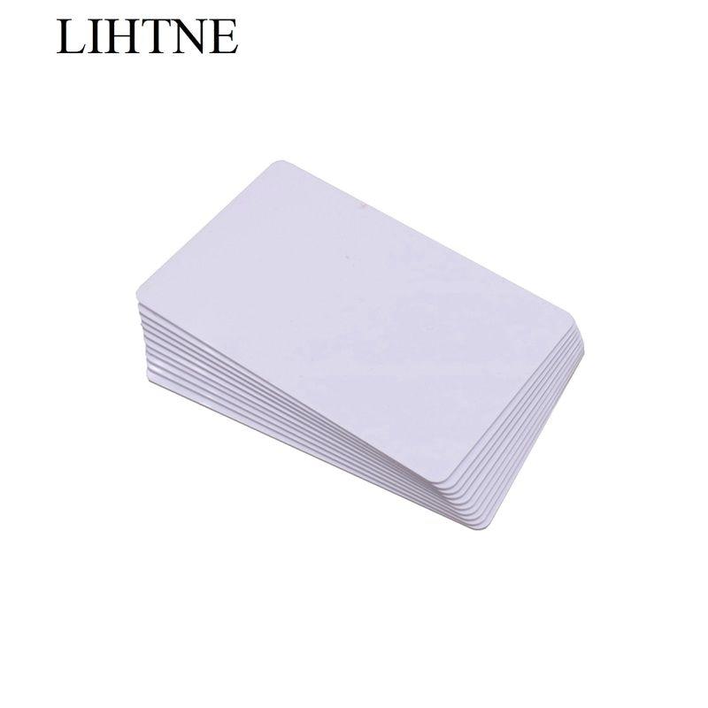 10PCS/lot RFID IC 13.56Mhz 2K PVC Card MF Plus 2K IC Card MF1 Plus S 2K Contactless IC Card 7bit UID 2k