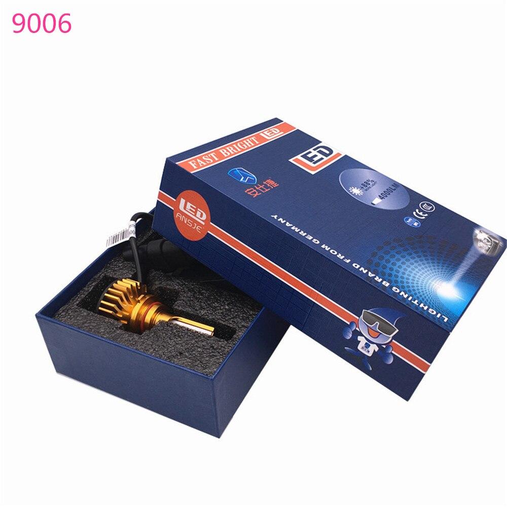 Car Lights Efficient 2pcs Car Headlights Led Light Bulbs 9005/hb3 9006/hb4 H1 H3 H4 H7 H11 Headlamp 6000k For Toyota Land Cruiser 2002 2003 2004 2005