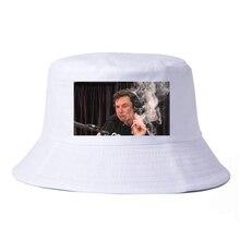 pop Men Women Print Elon musk smoking bucket hat fashion Summer Bucket Hats Unisex fisherman caps panama cap gorras