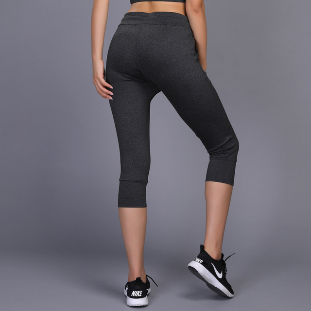 Women's Cropped Fitness Training Pants