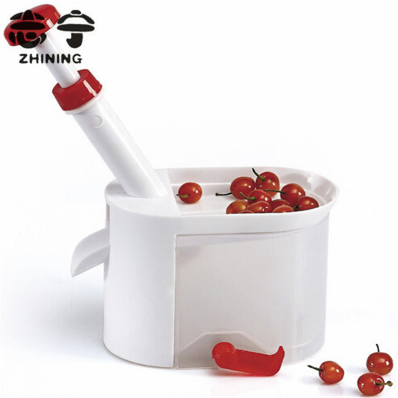 Creative cherry pitter red fruit seed remover machine nuclear corer kitchen accessories fruit vegetable tools free shipping Y 41