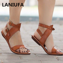 flats Sandals women Sandals Breathable Comfortable Casual