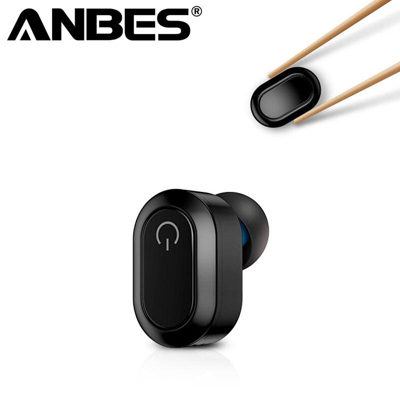 Mini Bluetooth 4.2 Ovale Bluetooth D'affaires Casque Wireless Écouteur Universel Casque HD Qualité pour Huawei iPhone Samsung Ipad