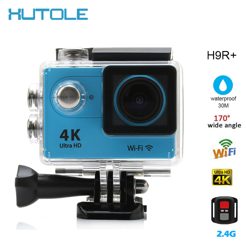 "H9R+/H9R WIFI Action Sports Camera 2.4G Remote Control Ultra HD 4K  1080P 2"" LCD Video Camcorders Helmet Cam go Waterproof pro"