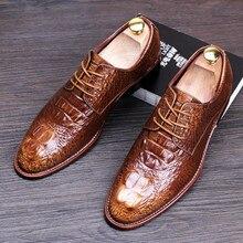 Tidog Korean men shoes casual shoes slip-on tide men's fashion leather wedding derby shoes