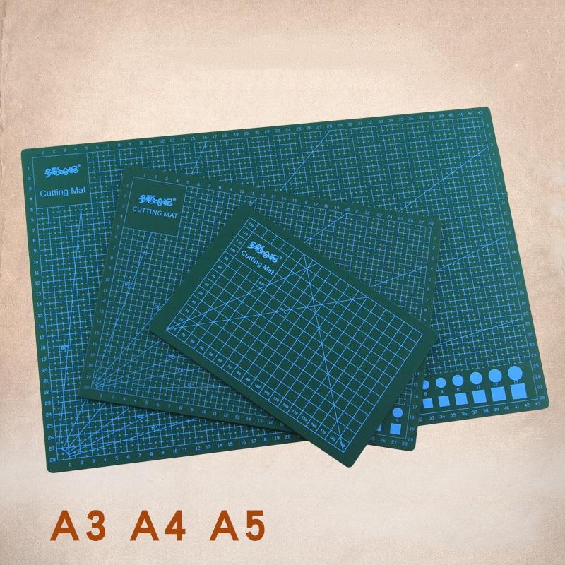 A3 A4 A5 PVC Cutting Pad Clay Backboard Model Production