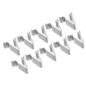Image 3 - 10 sztuk/zestaw 22mm metalowy wiosna spinka do tapicerki klipsy samochodowe nit mocujący klip dla Audi Boot 4A0867276