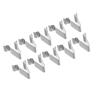 Image 3 - 10pcs/set 22mm Metal Spring Trim Clip Car Retainer Rivet Fastener Clip For Audi Boot 4A0867276
