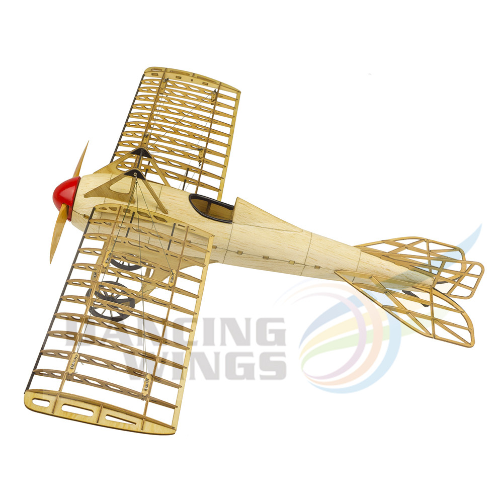 5% Pre Gebouwd Kit OnlyVintage Vliegtuig Model Deperdussin Monocoque Plane 1:13 Schaal Modelvliegtuigen Building Kit Vergadering Toy - 2
