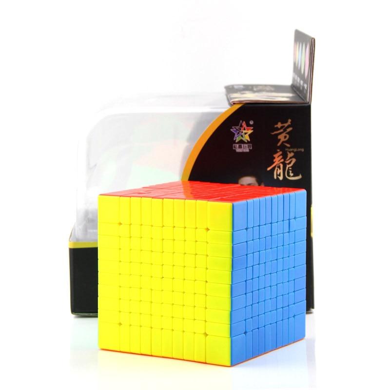 Cube néo professionnel 10x10x10 vitesse pour Cubes Magico Puzzle Antistress autocollant Cubo Magico pour enfants jouets éducatifs pour adultes-in Cubes magiques from Jeux et loisirs    1
