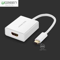 Ugreen USB 3 1 Type C 4K HDMI Cable For Macbook 10Gbps High Definition HDMI Adapter